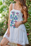 Ibiza Embroidered Dress - FINAL SALE