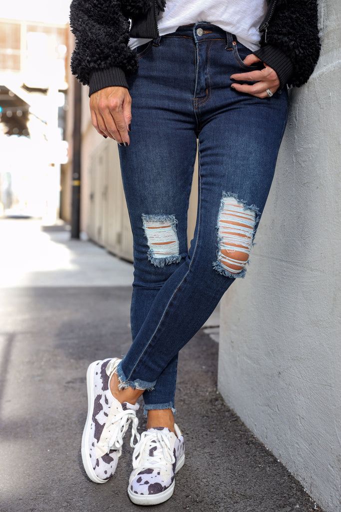 Adore You Distressed Jeans