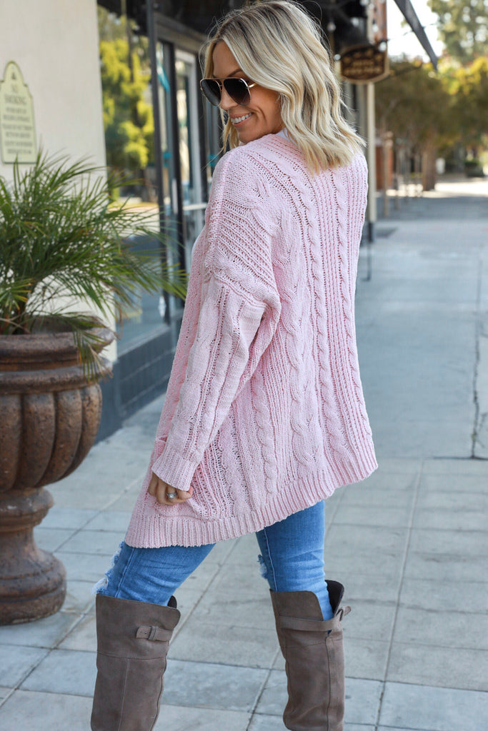 Let's Stay Home Cardigan - FINAL SALE