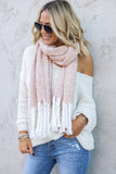 Winter Dreams Fringe Scarf - FINAL SALE
