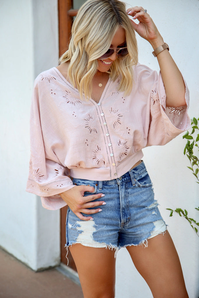 Romantic Intentions Top - FINAL SALE
