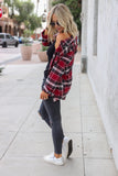 Montana Plaid Flannel Top