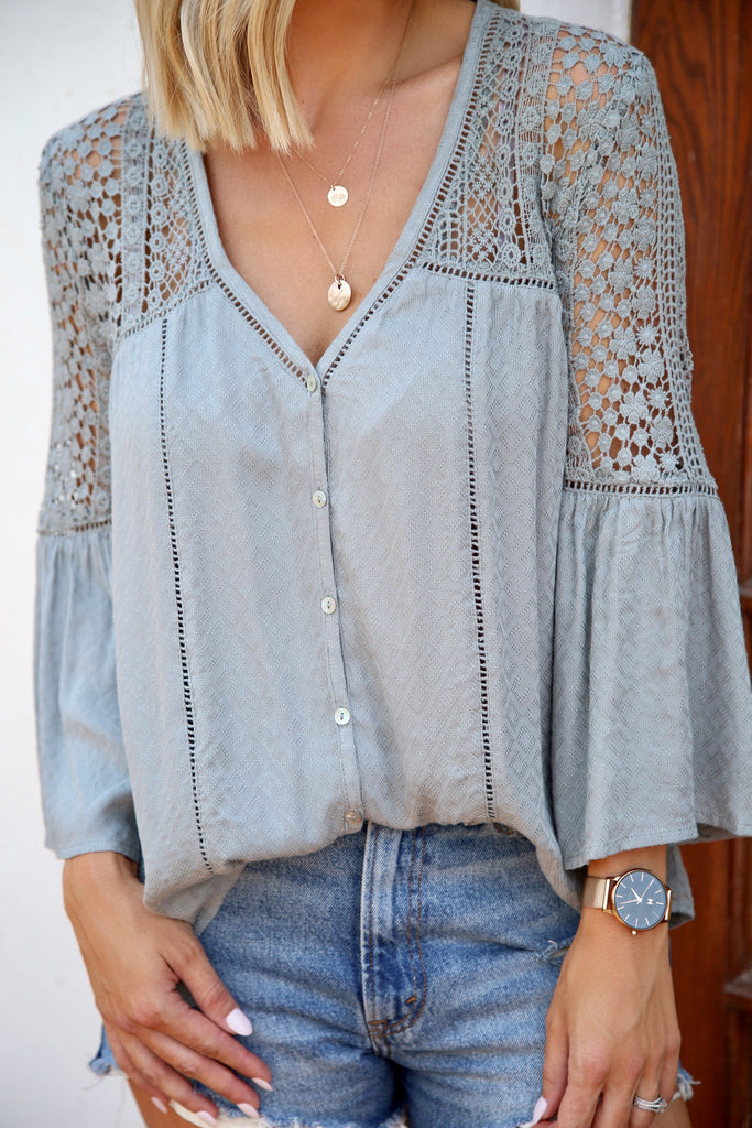 True Story Crochet Blouse