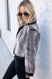 Moon River Faux Fur Jacket - FINAL SALE