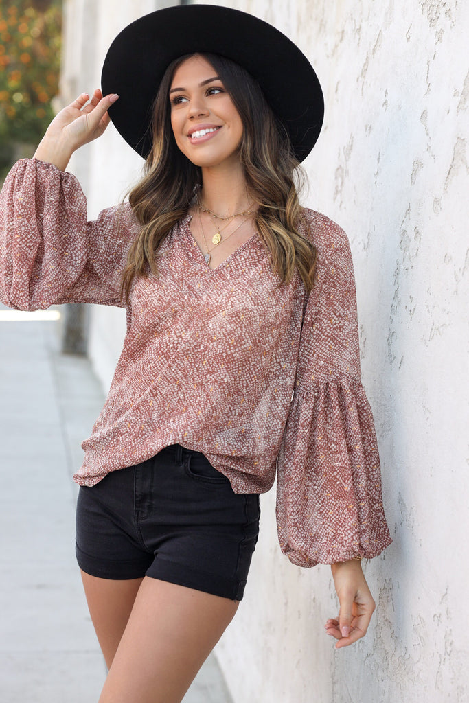 Stargazer Blouse - FINAL SALE