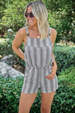 Branson Stripe Romper - FINAL SALE