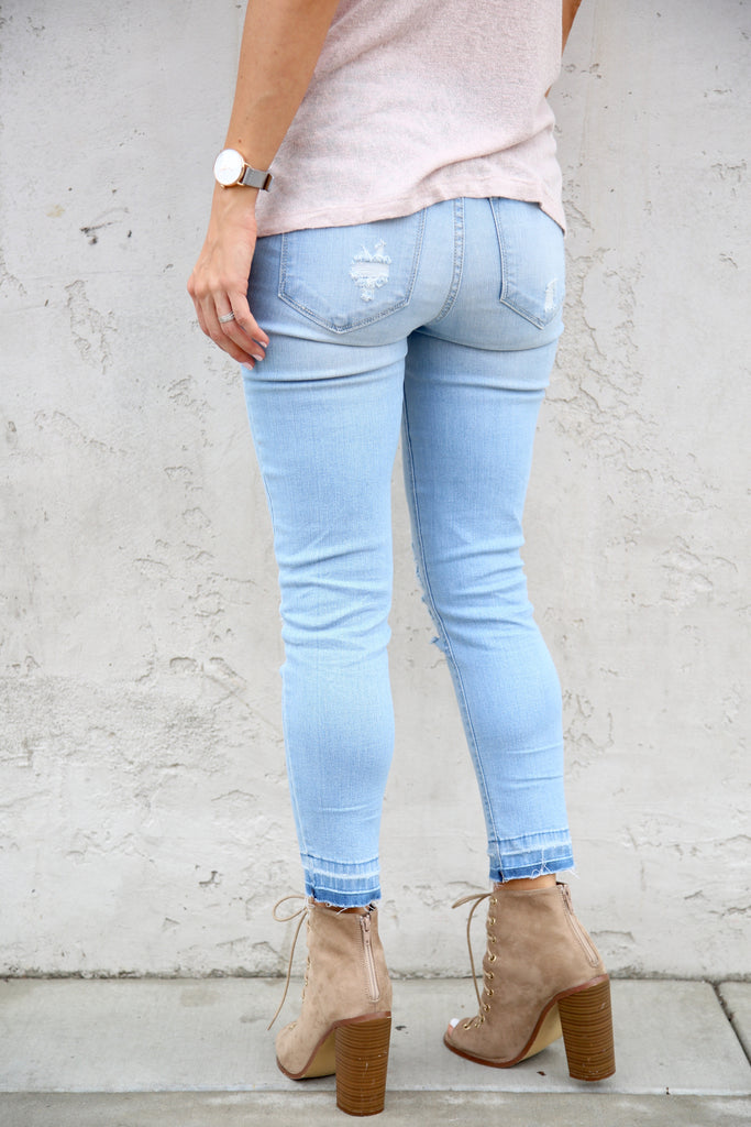 Oceanside Distressed Denim