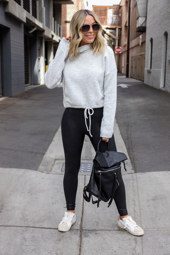 Dream On Cropped Sweater