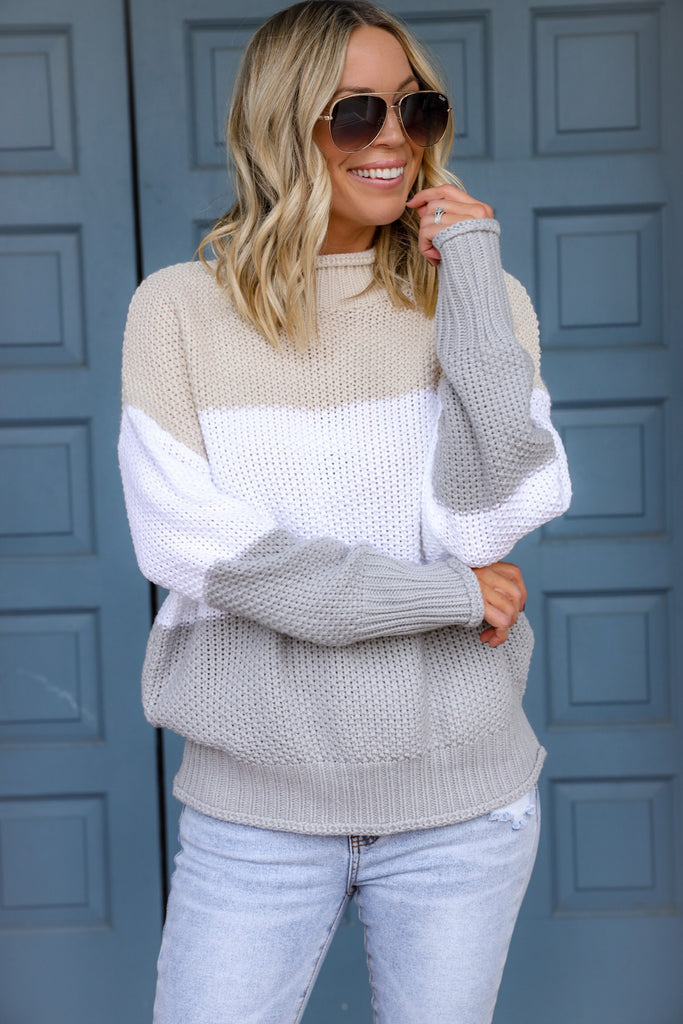 Trails of Love Knit Sweater