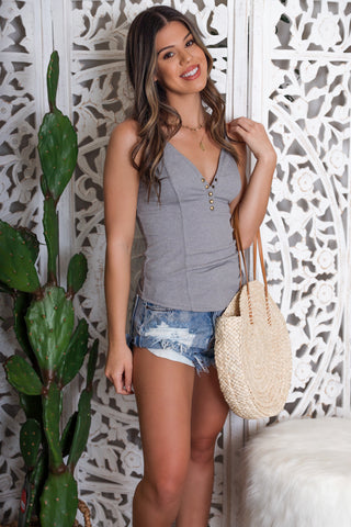 Adventurous Soul Fringe Tank - FINAL SALE
