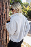 Winter Bliss Sherpa Pull Over
