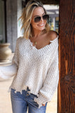 Dalia Distressed Sweater - FINAL SALE