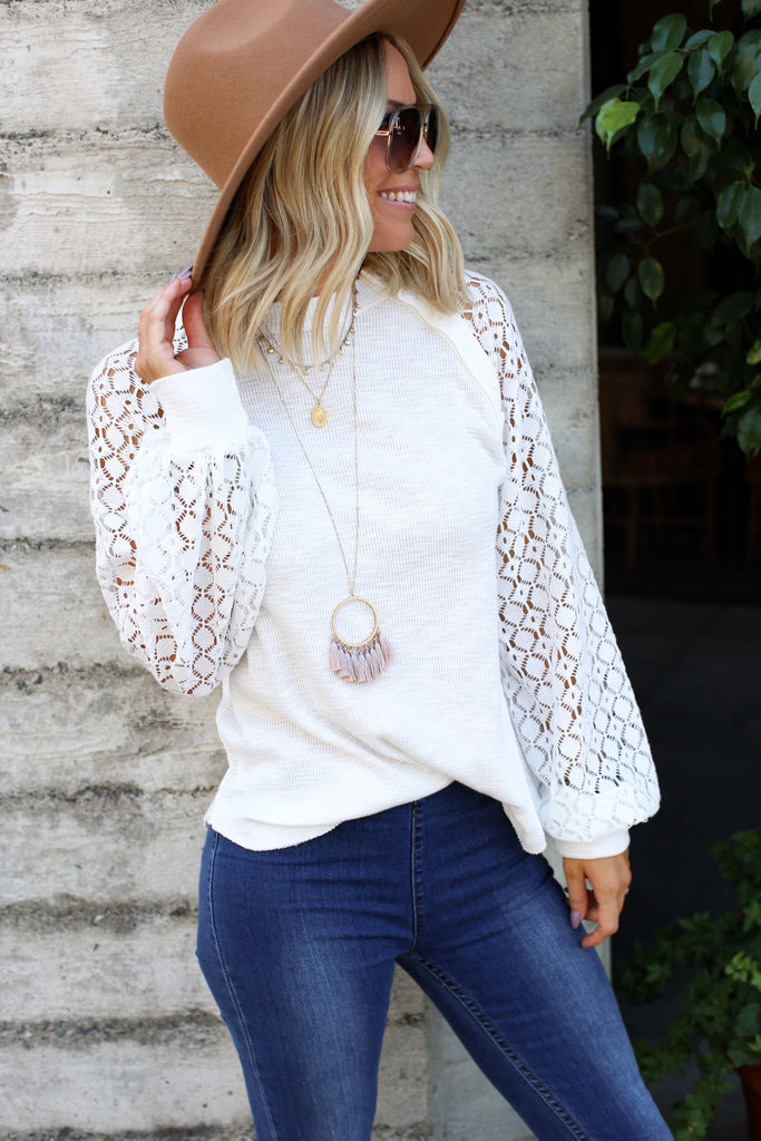 Daytona Lace Top - FINAL SALE