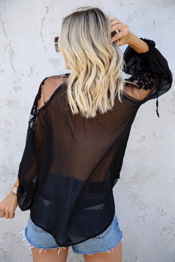 Ella Lace Blouse