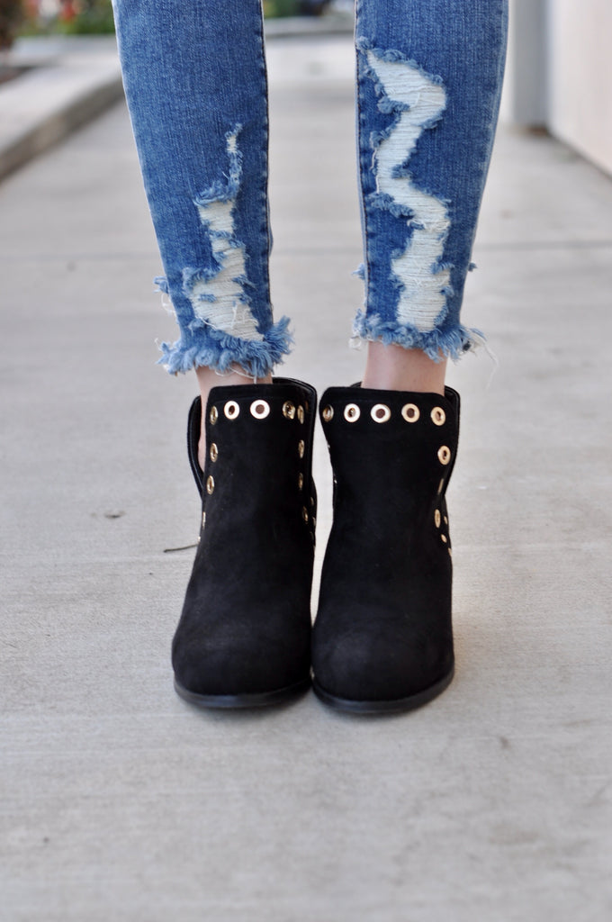 Ideal Suede Bootie