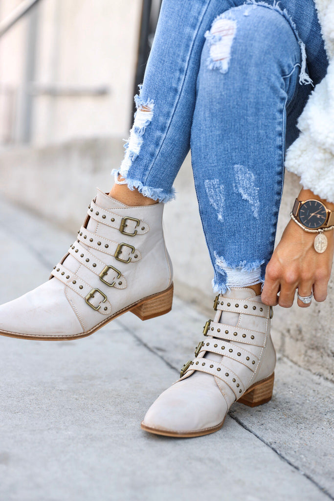 Lakewood Buckle Booties