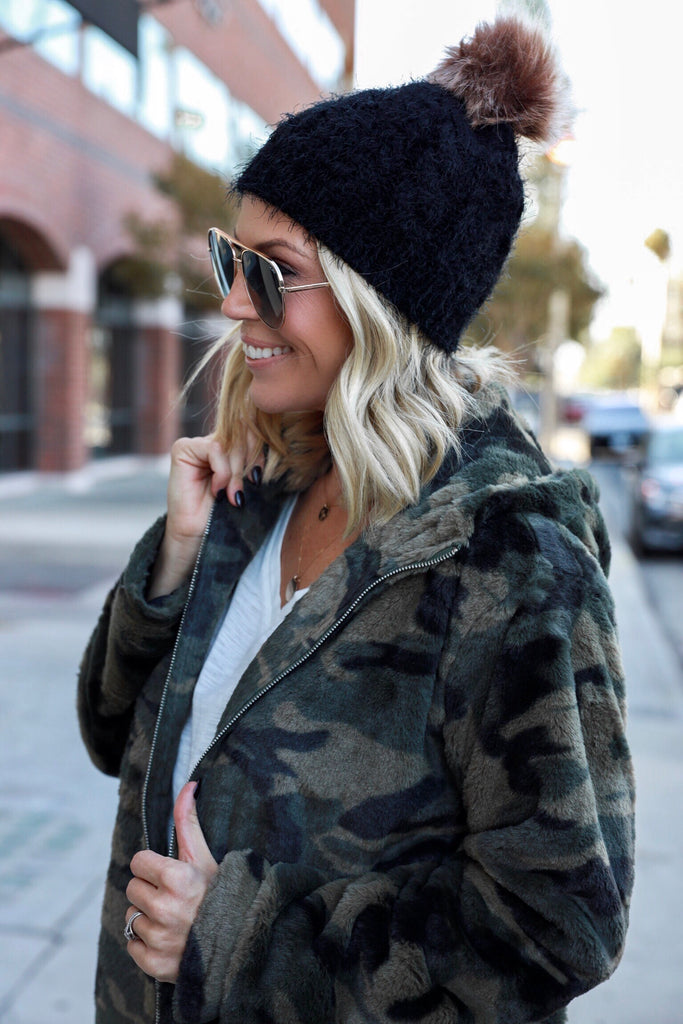 Wilder Camo Hooded Jacket - FINAL SALE