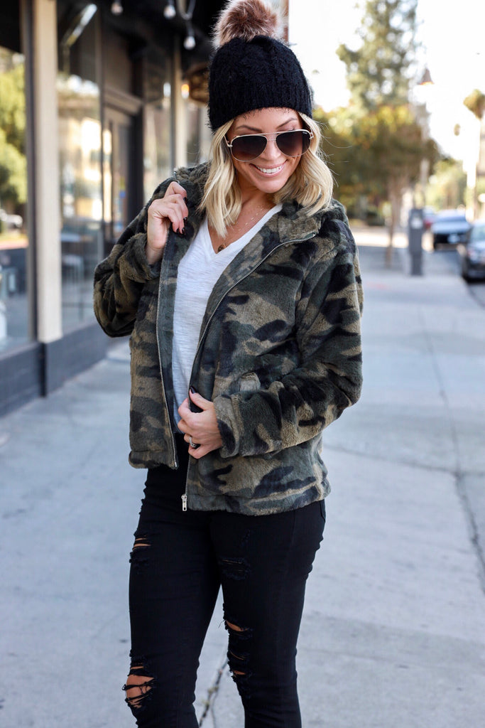Wilder Camo Hooded Jacket