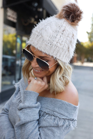 Kinsley Off Shoulder Sweater