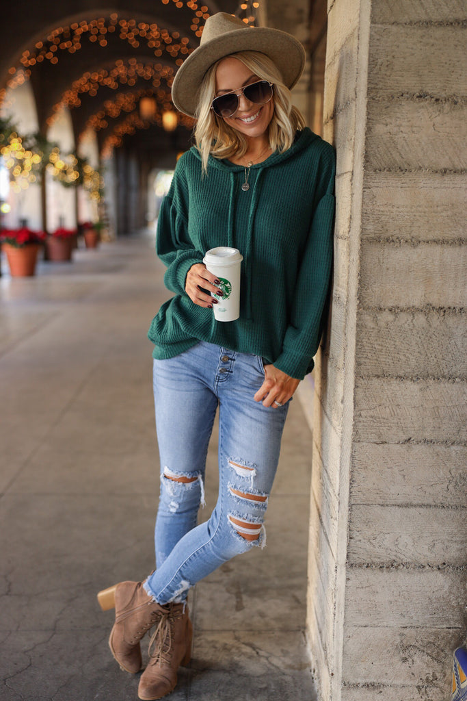 Dawson Oversized Thermal - FINAL SALE