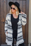 Chloe Fringe Cardigan - FINAL SALE