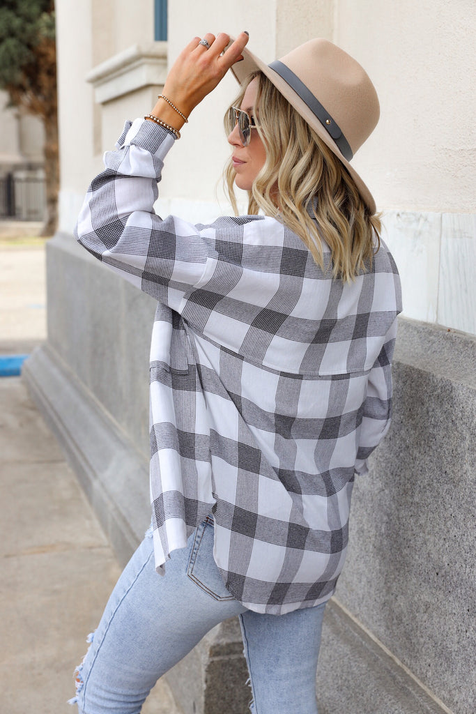 Rilynn Plaid Top