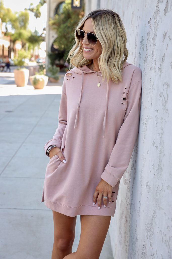 Andi Sweatshirt Dress - FINAL SALE