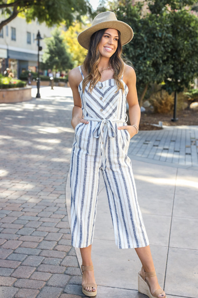 Spring Fling Jumpsuit - FINAL SALE