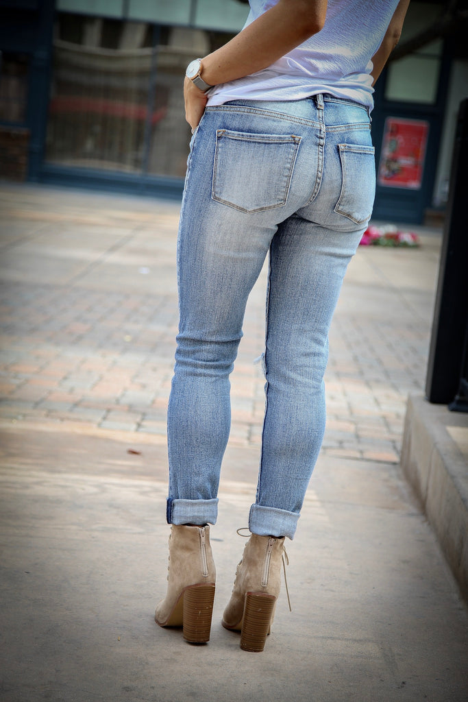 Presley Girlfriend Denim