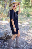 Novah Black Dress