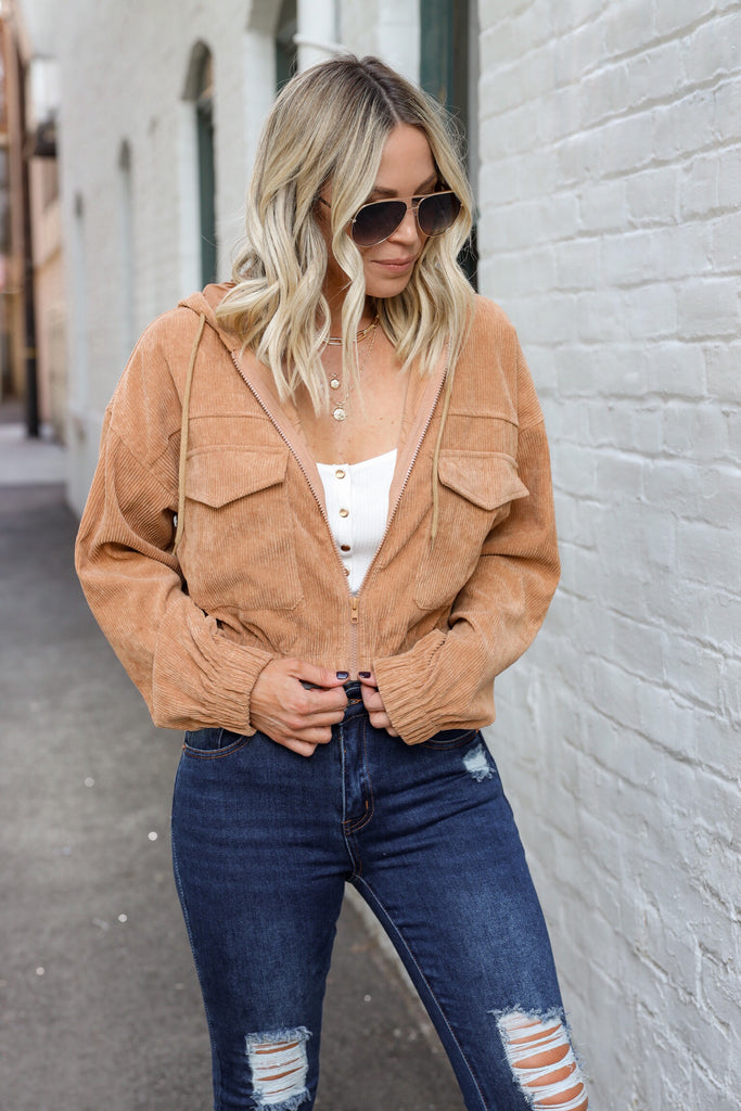 Love Your Way Corduroy Jacket
