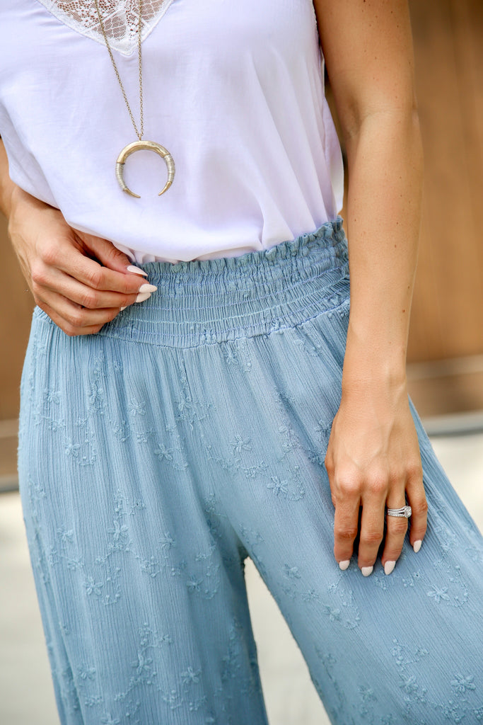 Beach Club Wide Leg Pants