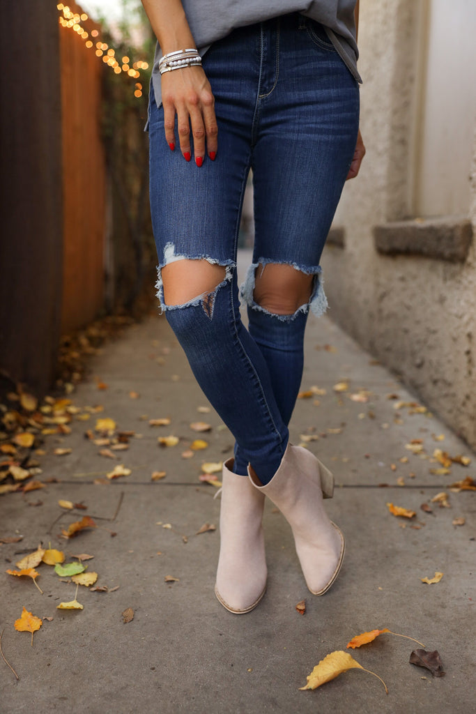 Piper Distressed Denim