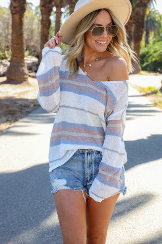 Rocky Chambray Top - FINAL SALE