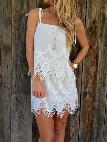 Sweet Love Lace Dress - FINAL SALE