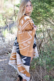Sun Down Poncho - FINAL SALE