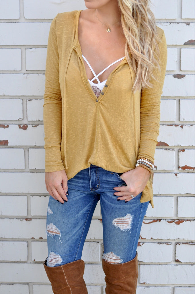 Fallbrook Top - FINAL SALE