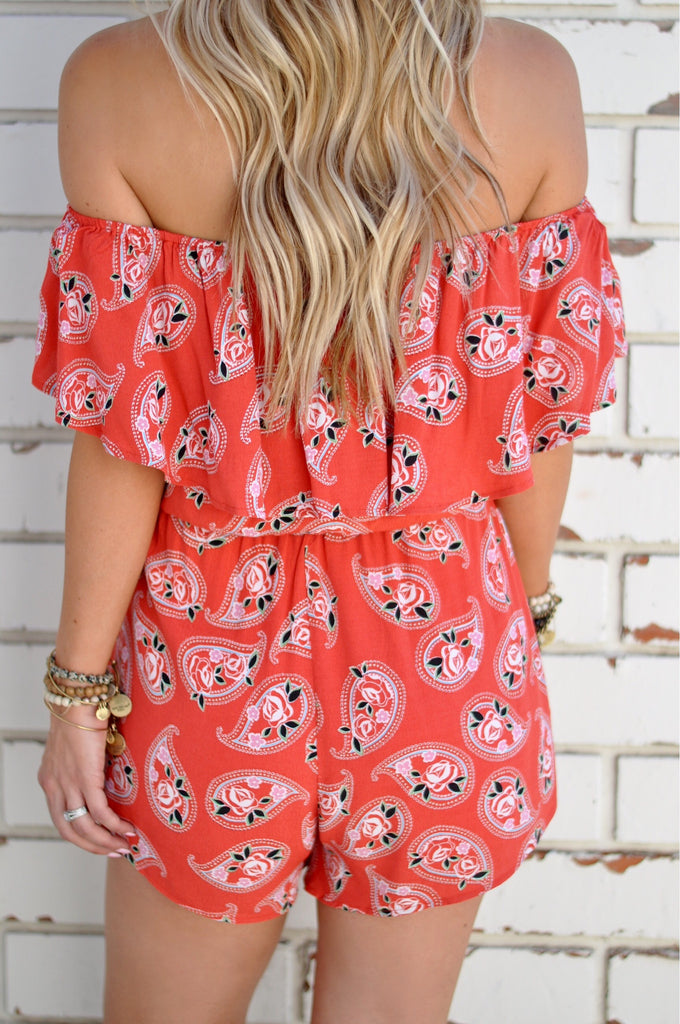 Ray of Sun Romper - FINAL SALE