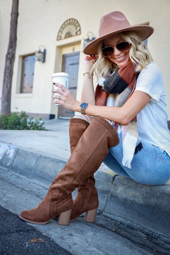 Josette Knee High Boot