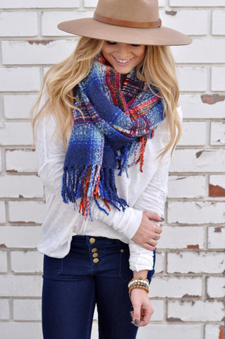 Warm Feelings Blanket Scarf