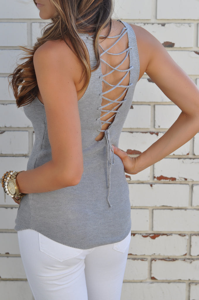 Lace Me Up Tank