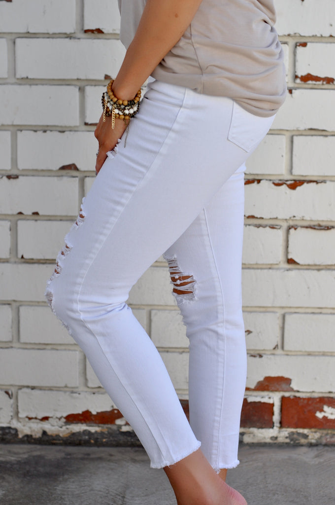 Hampton Distressed Skinny - FINAL SALE