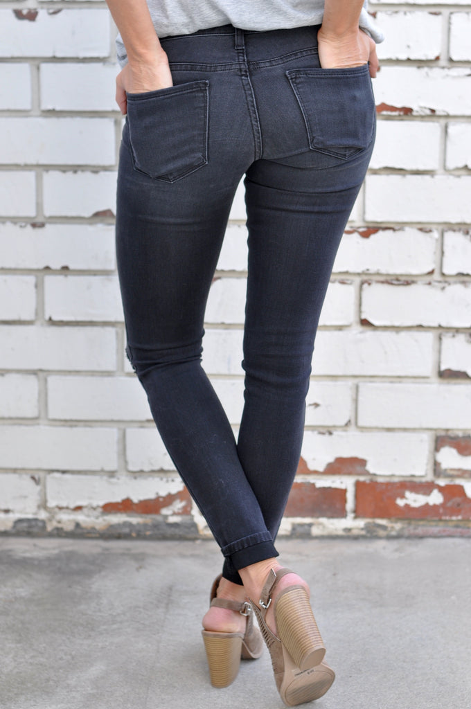 Asher Distressed Skinny - FINAL SALE