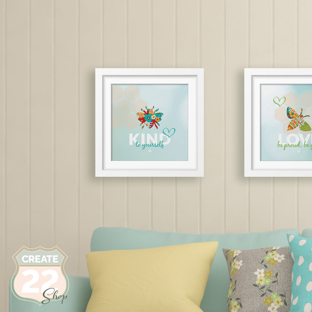 Be Kind Picture Frame Wall Art