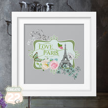Load image into Gallery viewer, Vintage Paris Love Picture Frame
