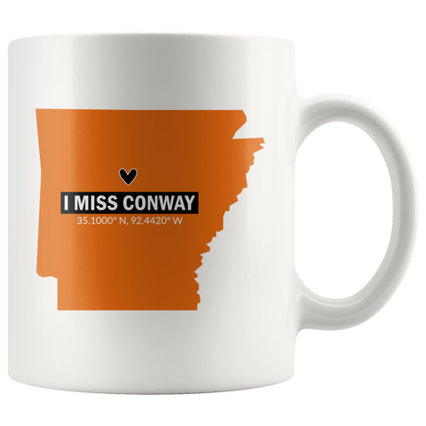 I Miss Hendrix College Coffee Mug