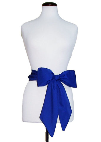 Royal Blue Gameday Bow - elle & k boutique