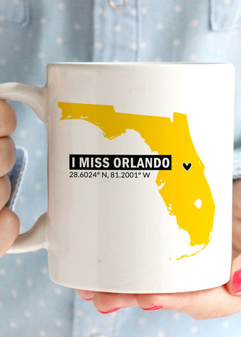 I Miss Orlando UCF Coffee Mug