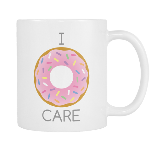 I Donut Care Coffee Mug - elle & k boutique