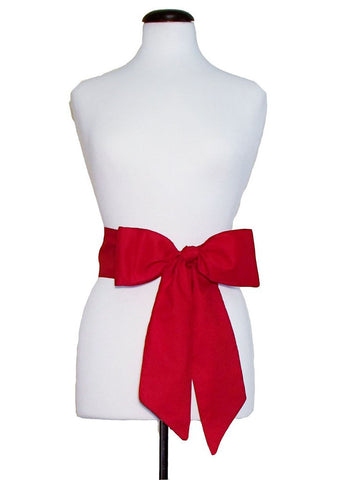 Scarlet Red Gameday Bow - elle & k boutique